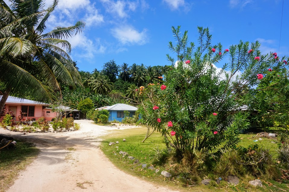 Villages Houses In American Samoa