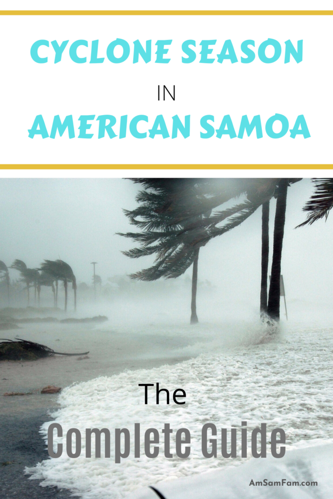 Pinnable Cyclone Season in American Samoa Image