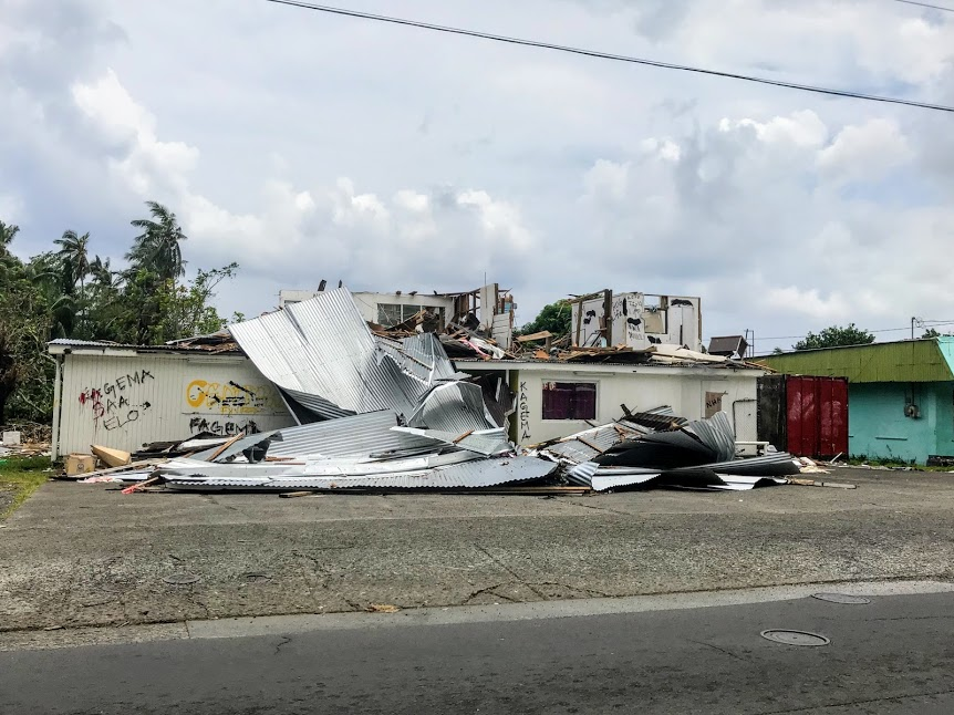Damage from Cyclone Gita in American Samoa