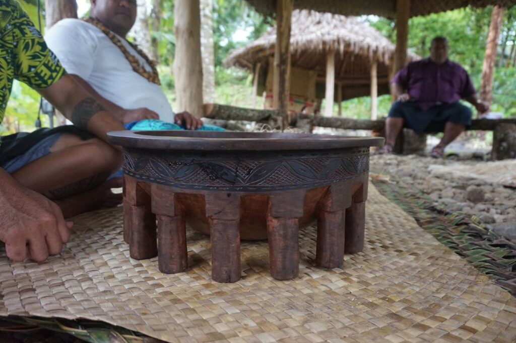 Tanoa bowl for an 'ava ceremony