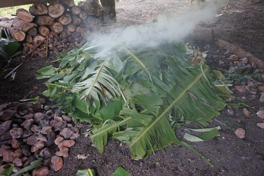 Samoan earth oven- umu