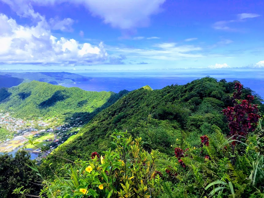 View from the top of the Mount Alava Trail