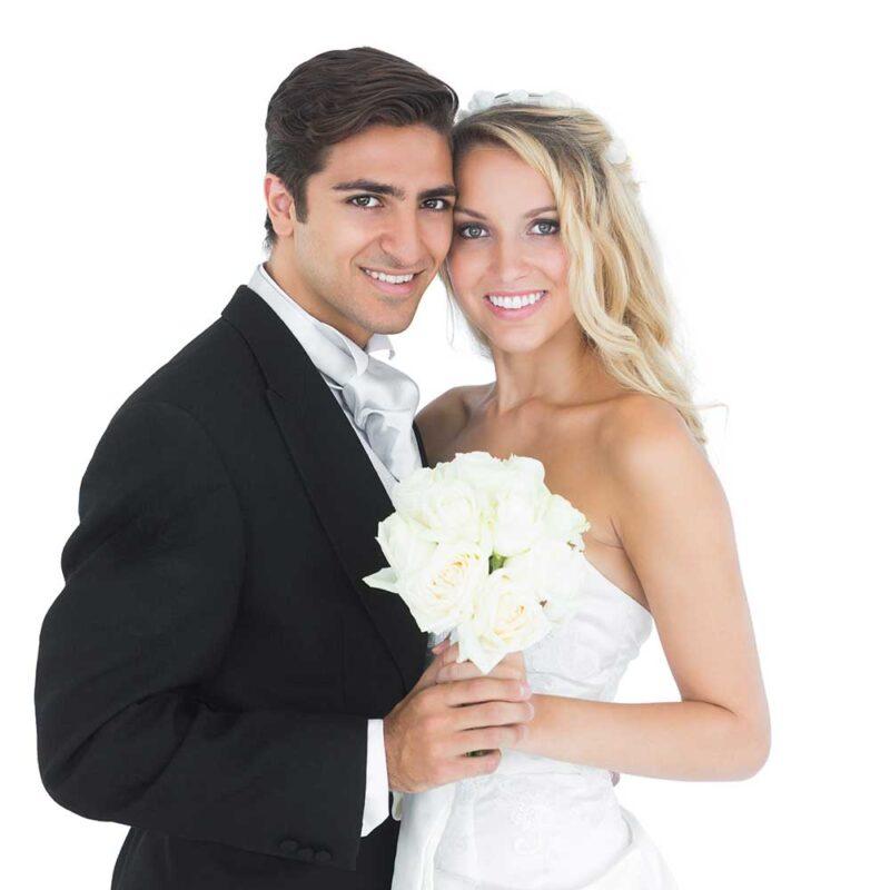 Clearwater wedding Limousines - Wedding Couple