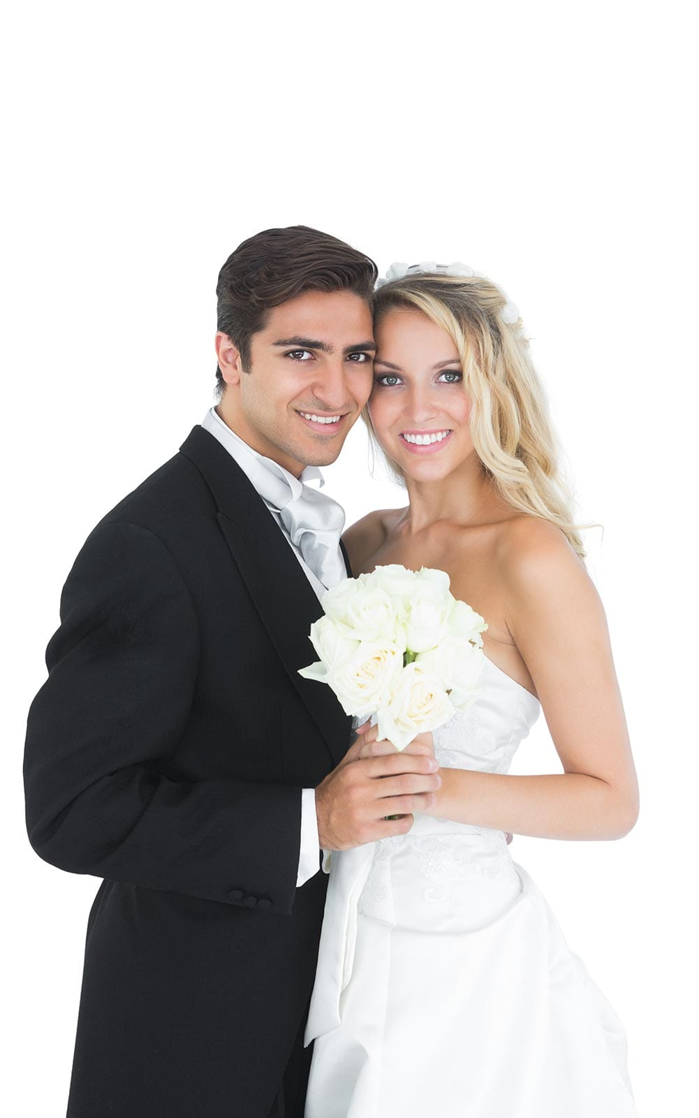 Tampa Bay Area Wedding Transportation. Photo of bride and groom.