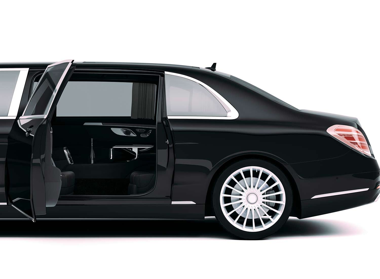 Limo St Petersburg - Black Limousine