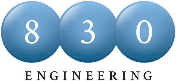 830 Engineering Logo