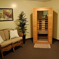 Melt your stress away with a Sauna session.
