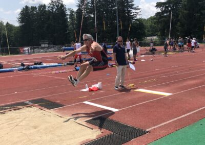 arnie- long jump