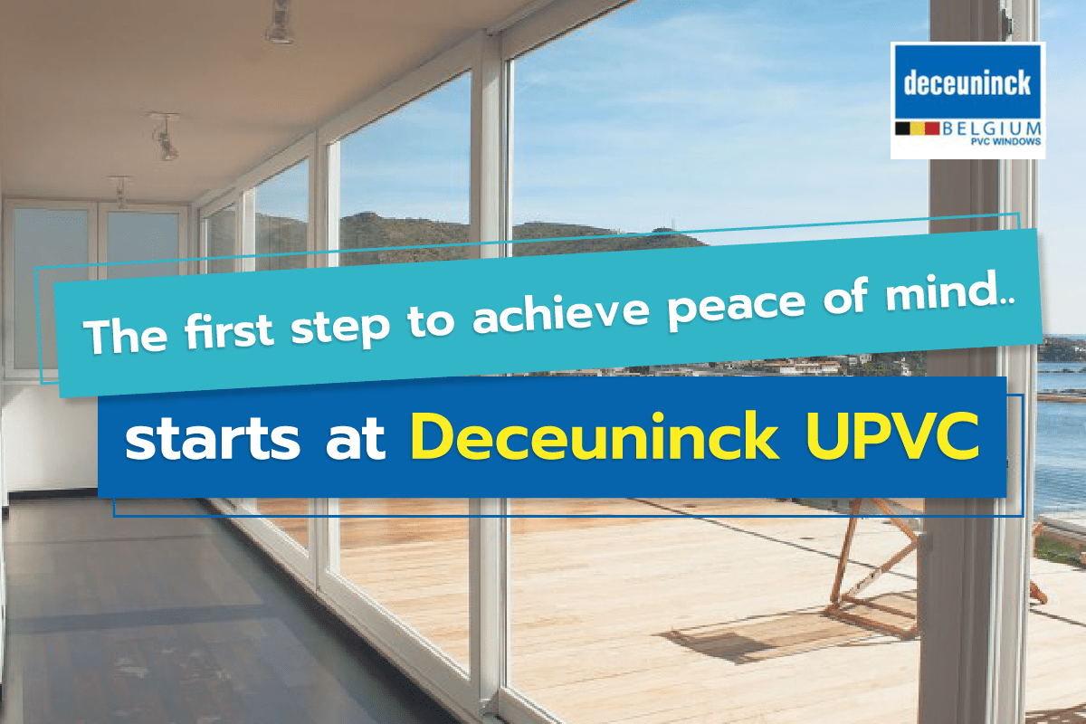 Deceuninck UPVC window