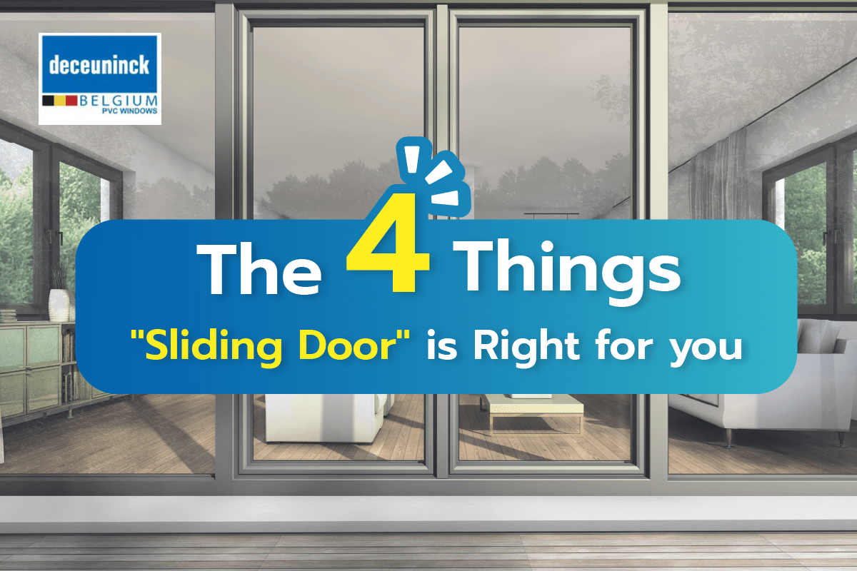 """""""Sliding Door"""" is Right for you"""