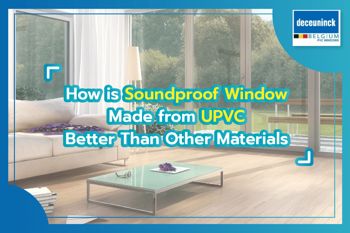 how upvc is soundproof
