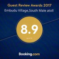 Booking-Guest-Review-Awards-2017-Embudu-Village