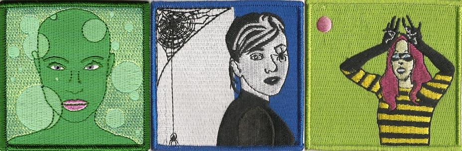 Diane Arrieta's Superhero Embroidered Patches