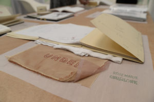 Flip Out: Artists' Sketchbooks, installation view, Rosemarie Chiarlone, photo by Voltagge