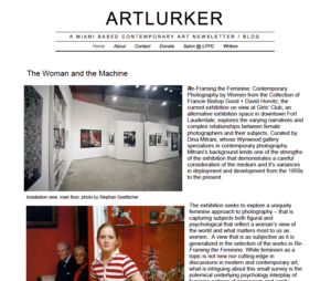 ArtLurker-TheWomanandtheMachine-2011