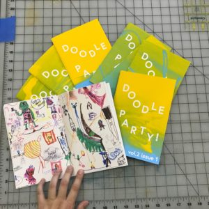 Doodle Party Zine, Vol 2 Issue 1