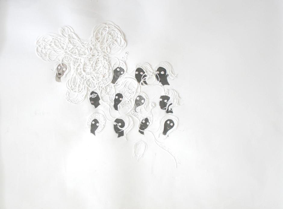 Ellen Gallagher, Untitled, 2002