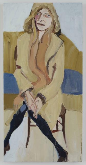 Chantal Joffe, Megan in a Camel Coat
