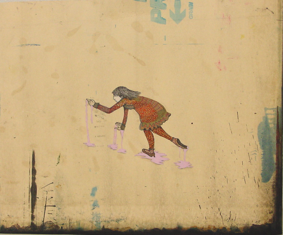 Mel Kadel, Bubble gum stick, 2006