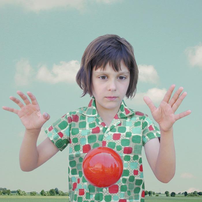 Loretta Lux, The Red Ball 1, 2002