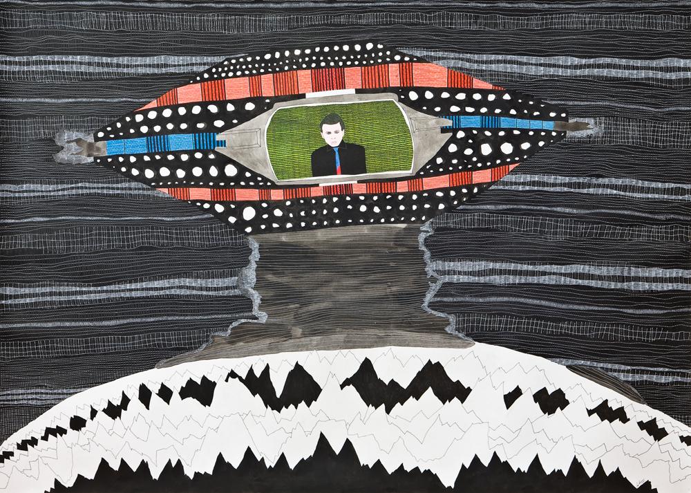 Beatriz Monteavaro, Untitled (praying to the aliens)