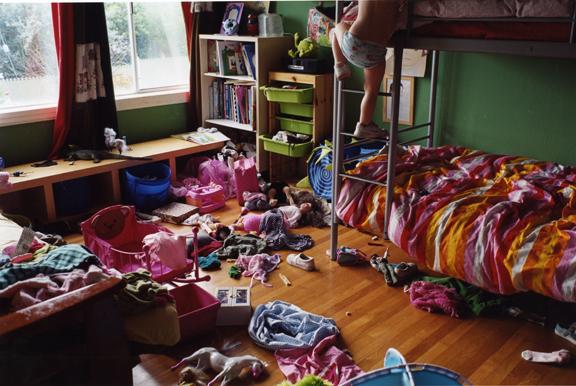 Peggy Levison Nolan, Untitled (lily's bedroom)