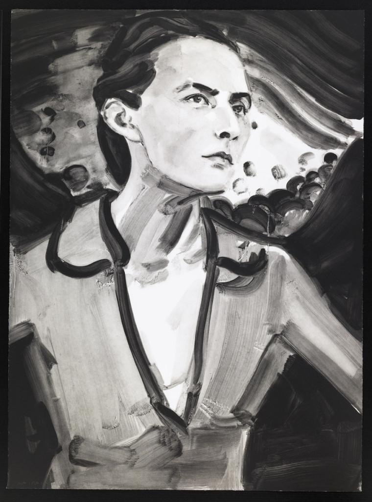 "Elizabeth Peyton, Georgia (after Stieglitz), 2006 Etching with aquatint, 30 x 20"""