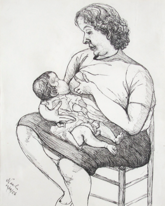 Alice Neel, Mother and Child, 1956