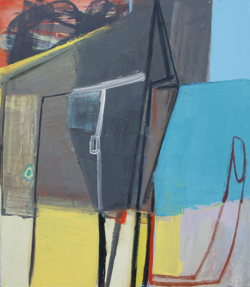 Amy Sillman, N, 2007