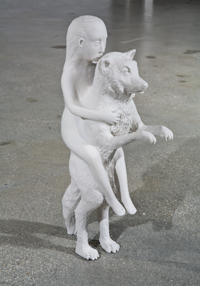 Kiki Smith, Woman with Wolf, 2003
