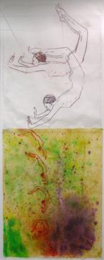 Nancy Spero - Dive II, 2001