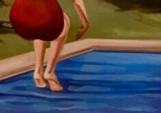 detail painting by Kristen Thiele