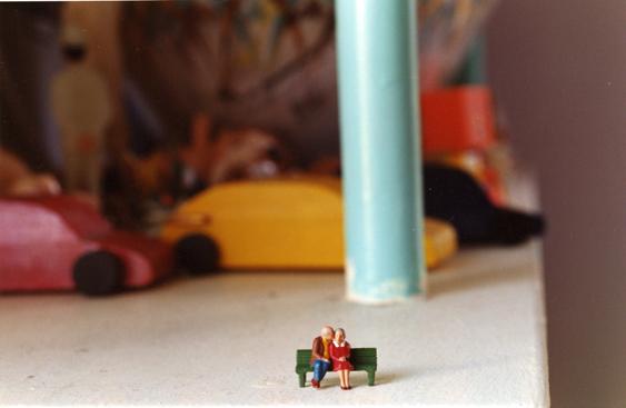 Peggy Levison Nolan, Untitled (toy couple)