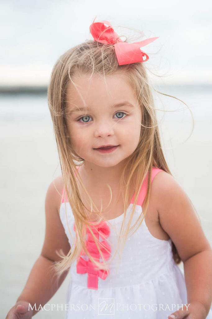 child beach portrait