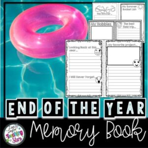 End of the Year Memory Book 2020-21