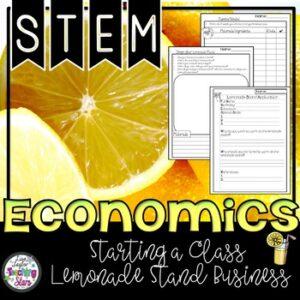 Starting a Class Lemonade Stand PBL