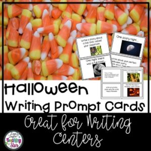 Halloween Writing Prompt Cards
