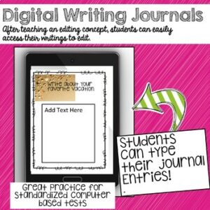 Back to School Writing Prompt Journal | Google Classroom