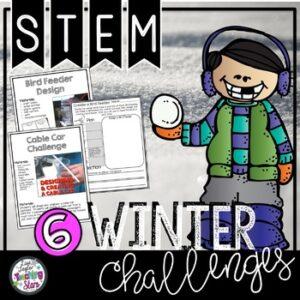 Winter STEM Challenges | January Activities | Google Classroom | Digital