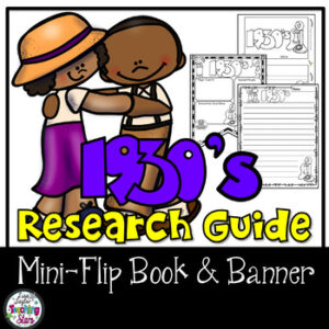 1930's Research Guide