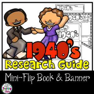 1940's Research Flip Book and Banner