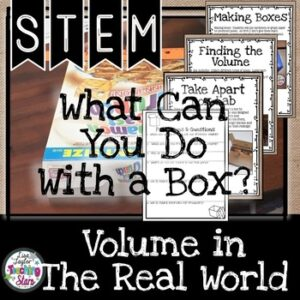 Volume Activity: STEM What Can You Do With a Box?
