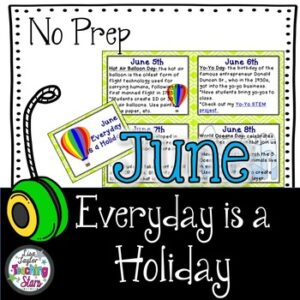 June Everyday is a Holiday