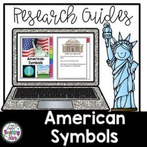 Digital | American Symbols Flip Book | Google Classroom | Distance Learning