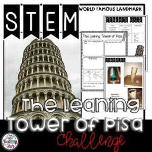 STEM The Leaning Tower of Pisa Challenge