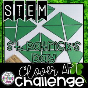 St. Patrick's Day Clover STEM Challenge