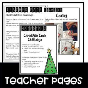 "Christmas Coding ""Unplugged"""