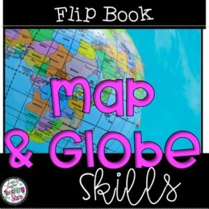 Map and Globe Flip Book