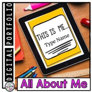 Back to School All About Me Digital Resource ~Distance Learning