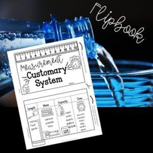 Measurement Customary Flip Book